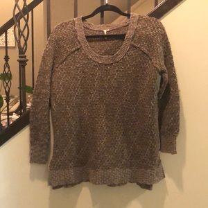 FREE People oversized XS sweater